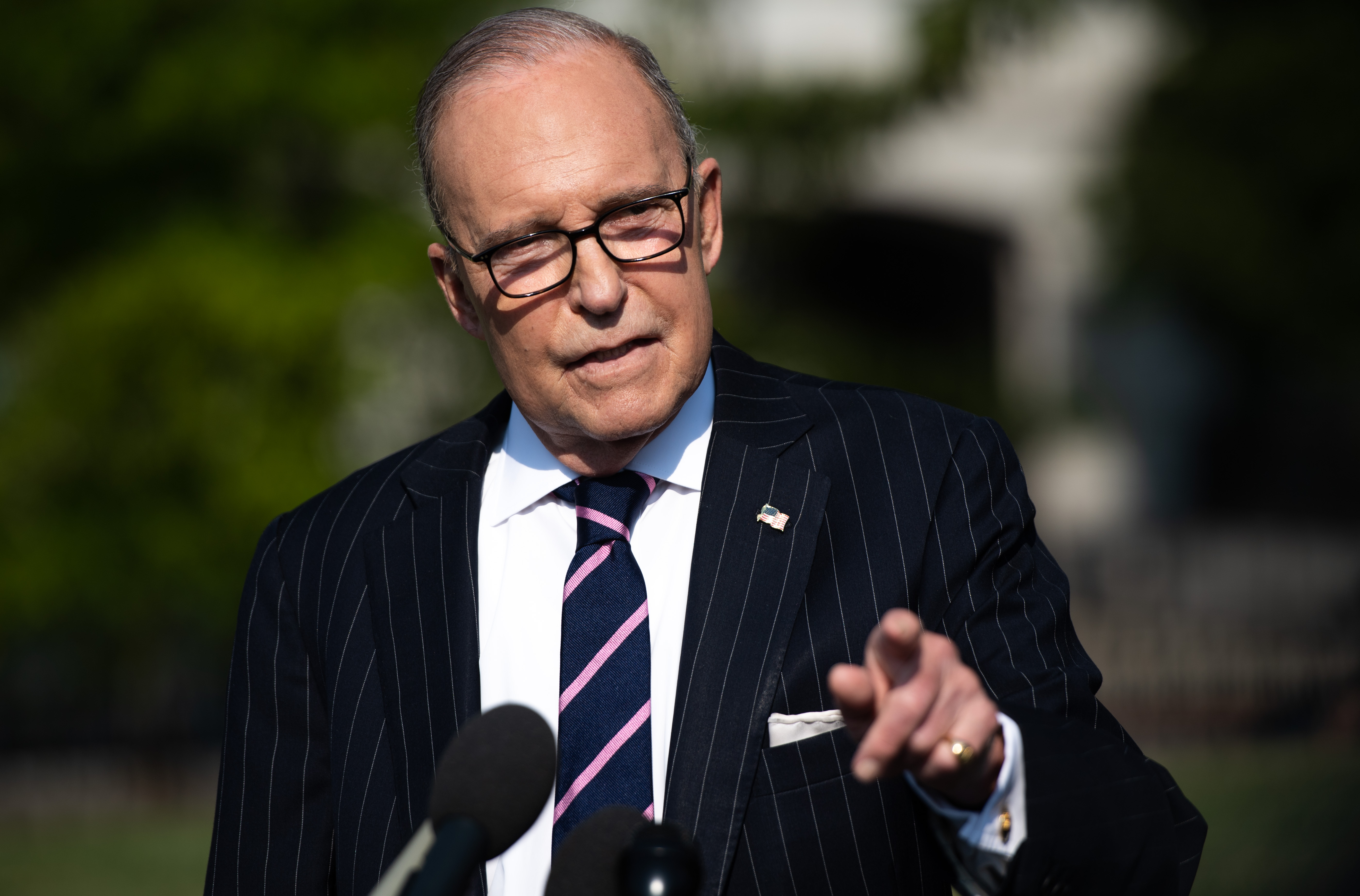 Trump 'Looking at' Potential Purchase of Greenland, Kudlow Says