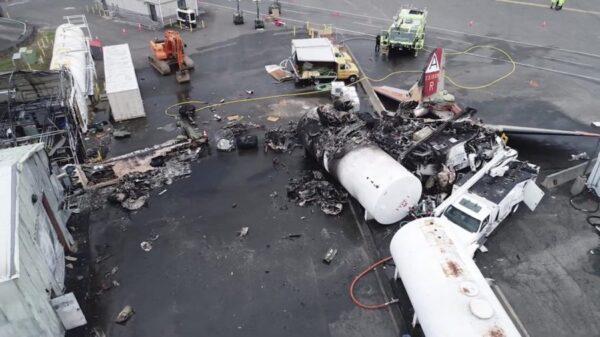 Pilot and Passenger Miraculously Unhurt After Plane Crashed into Ski Lift
