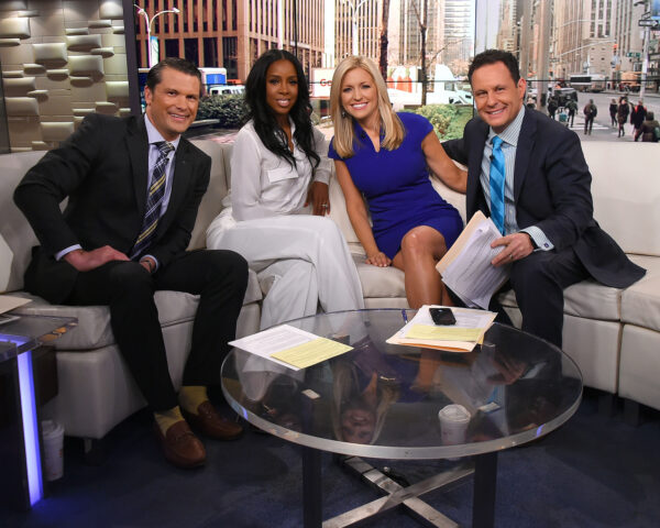 """Singer Kelly Rowland Visits """"Fox And Friends"""""""