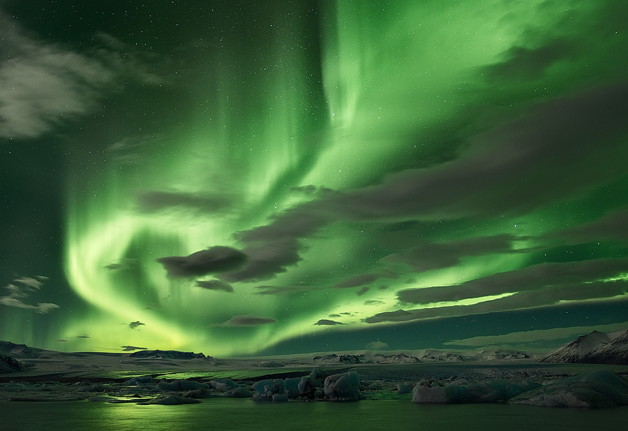 """Shades of Green."" Photographer Erez Marom describes:"