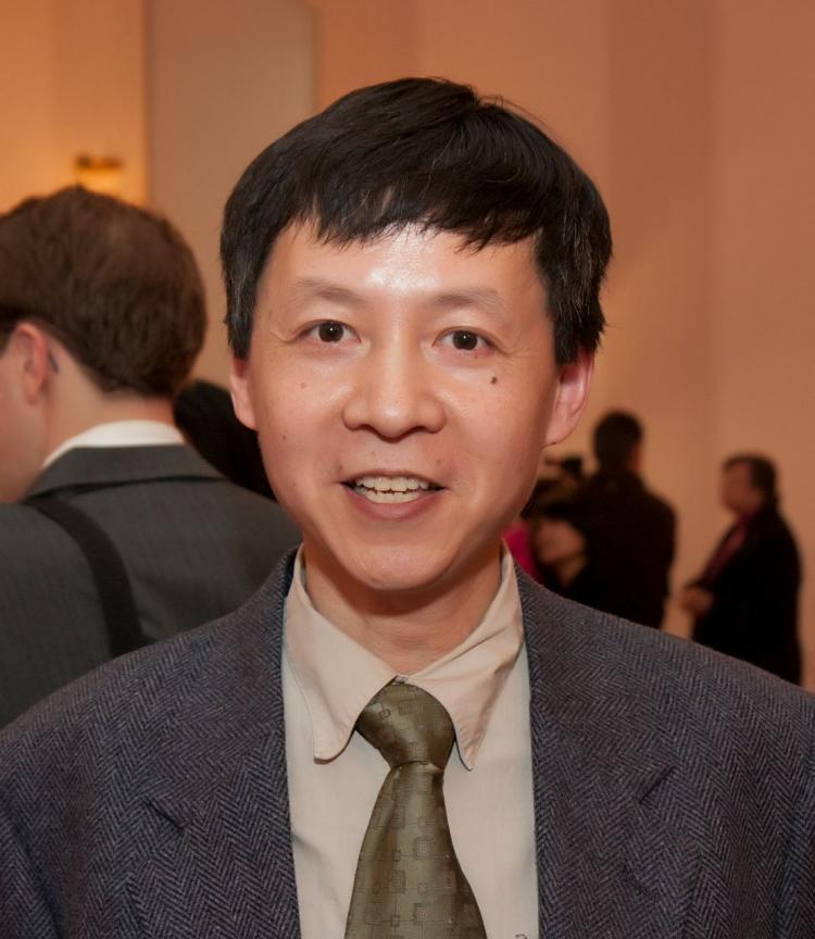 Mr. Yang Xiao Cheng, who was originally from Shanghai. (Jan Jekielek/The Epoch Times)