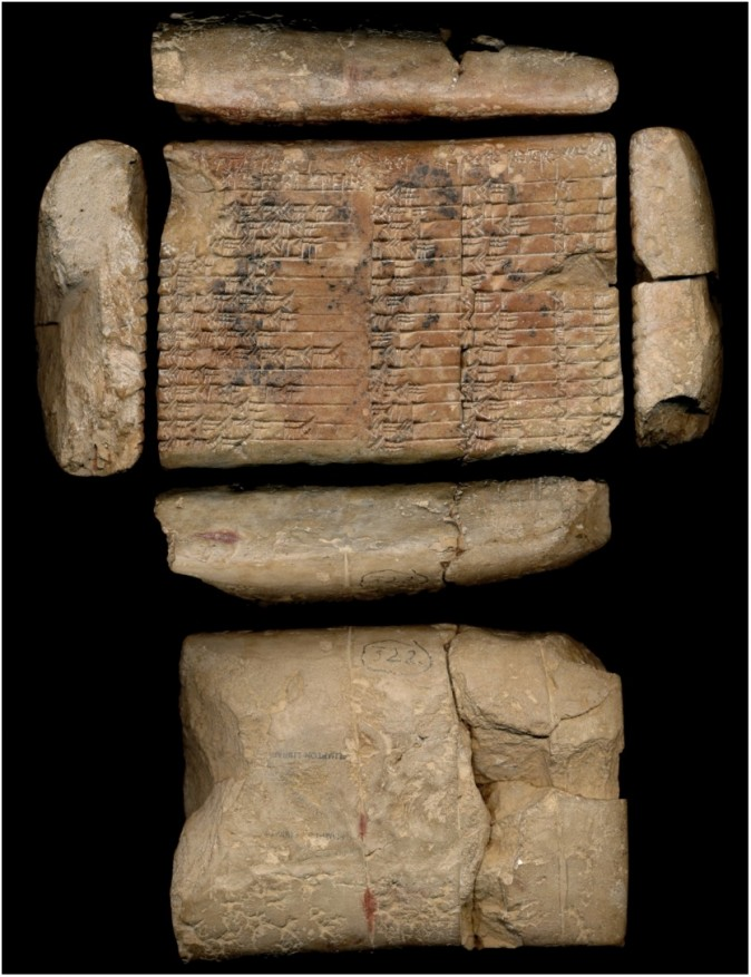 Plimpton 322: The world's first trigonometric table, (Rare Book and Manuscript Library, Columbia University.)