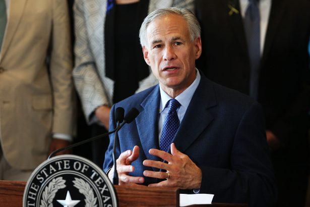 Texas Governor Greg Abbott speaks at Dallas's City Hall in Dallas, Texas, on July 8, 2016. (Spencer Platt/Getty Images)